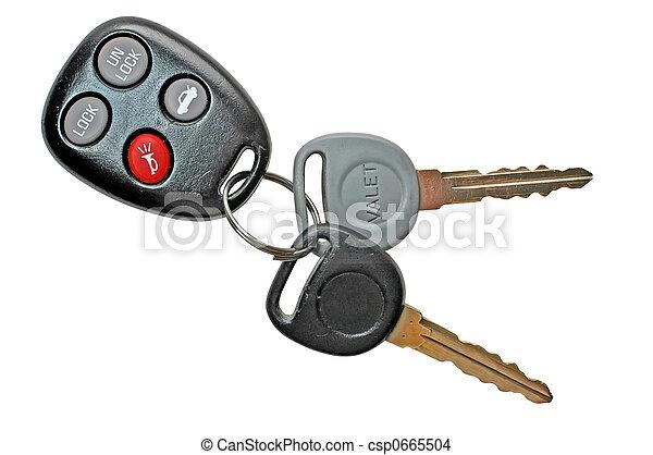 chiavi, automobile - csp0665504