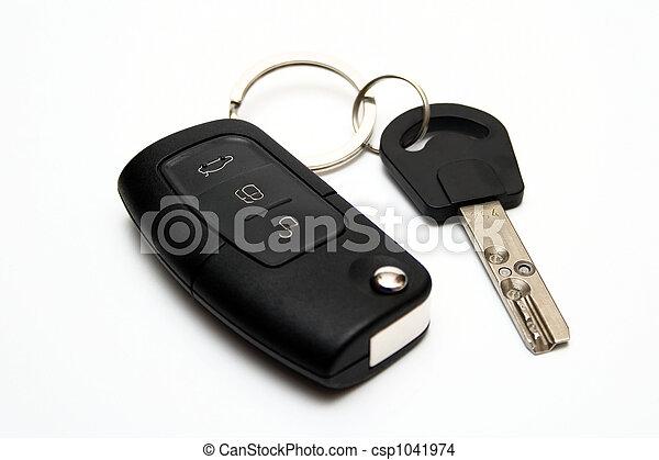 chiavi, automobile - csp1041974