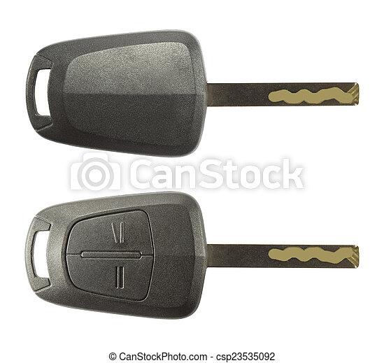 chiavi, automobile - csp23535092