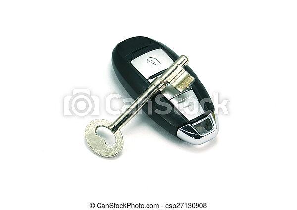 chiavi, automobile - csp27130908