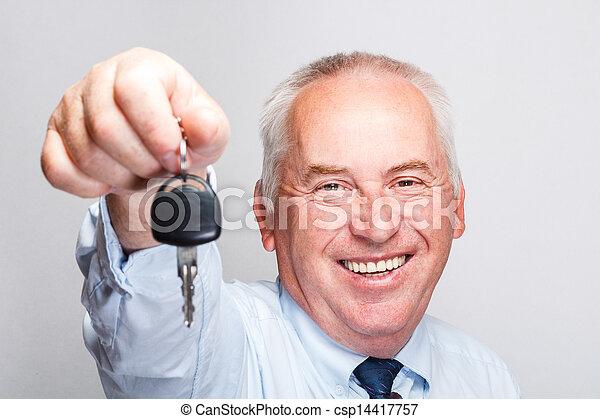 chiavi, automobile - csp14417757