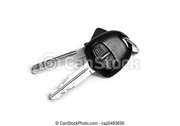 chiavi, automobile - csp5483656