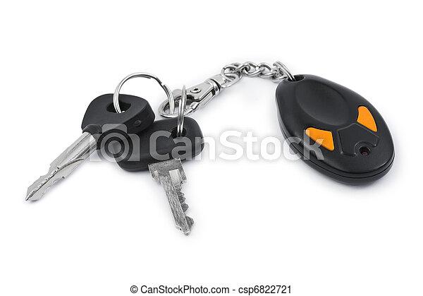 chiavi, automobile, controllo, remoto - csp6822721