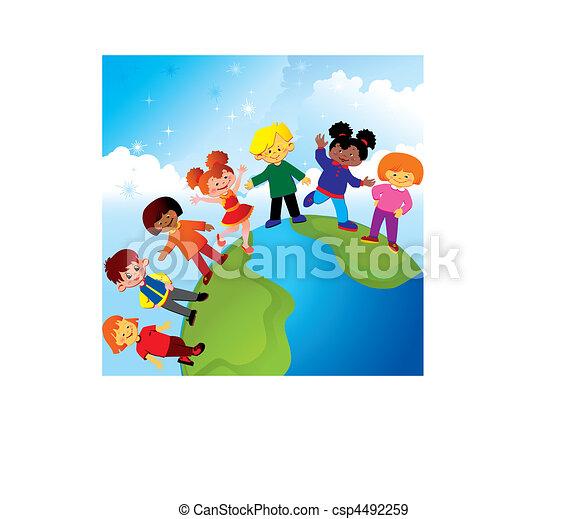 childhood., felice - csp4492259