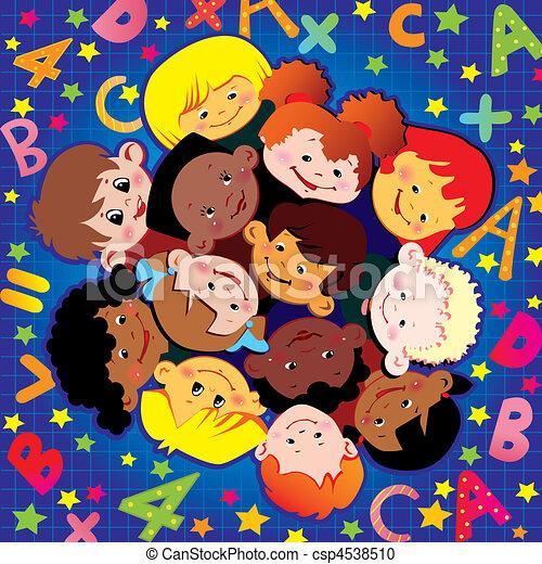 childhood., scuola - csp4538510