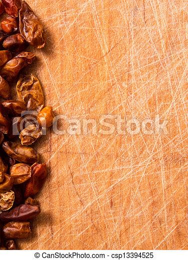 chilis, secco, fondo - csp13394525