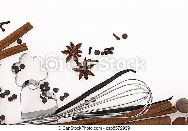 cibo, dolce, ingredienti - csp8572939