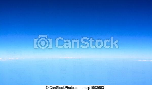 cielo, orizzonte - csp19036831