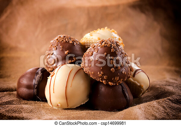 cioccolato, dolce - csp14699981