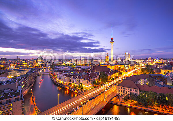 cityscape, berlino - csp16191493
