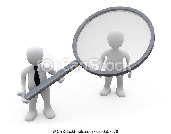 cliente, analisi - csp6587570