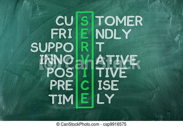 cliente, concetto, servizio - csp9916575