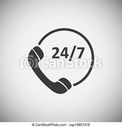 cliente, domanda, legno, servizio, icone - csp15857418