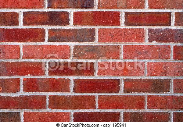 closeup, parete, mattone - csp1195941