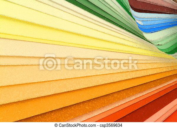 colorare campioni - csp3569634