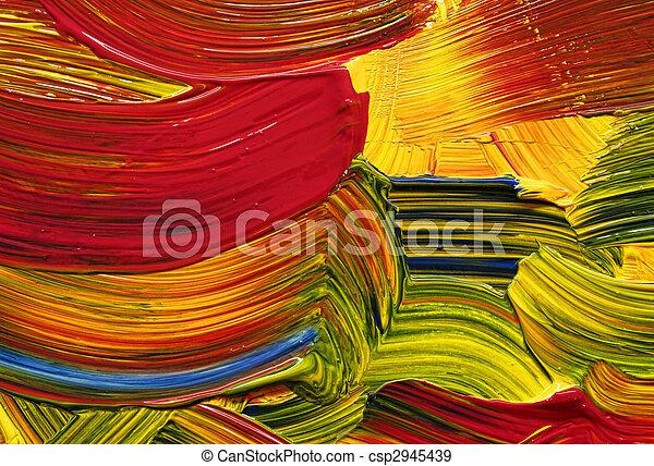 colorare, colpi, luminoso - csp2945439
