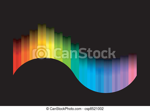 colorare, curva - csp8521002