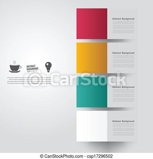 colorare, fondo., astratto, vettore, quadrato - csp17296502
