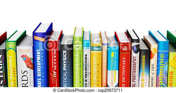 colorare, libro copertina dura, libri - csp20973711