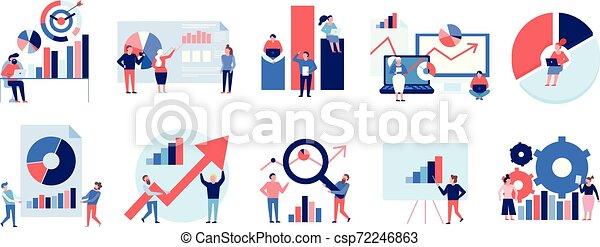 colorare, set, dati, analisi - csp72246863