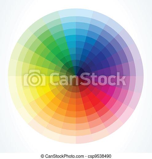 colorare, vettore, wheels., illustrazione - csp9538490