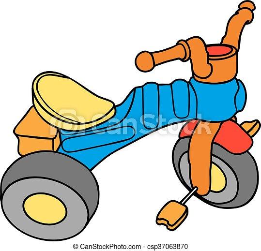 colorito, tricicli - csp37063870