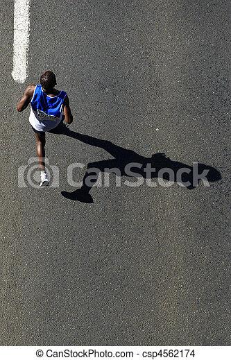 compagni, 2010, maratona - csp4562174