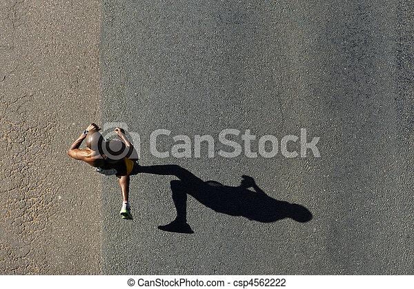 compagni, 2010, maratona - csp4562222