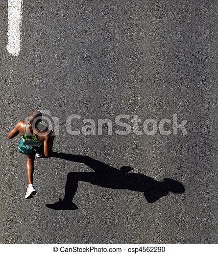 compagni, 2010, maratona - csp4562290