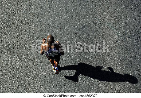 compagni, 2010, maratona - csp4562379
