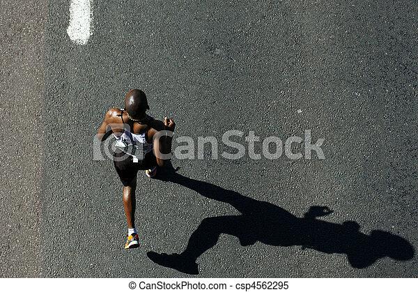 compagni, 2010, maratona - csp4562295