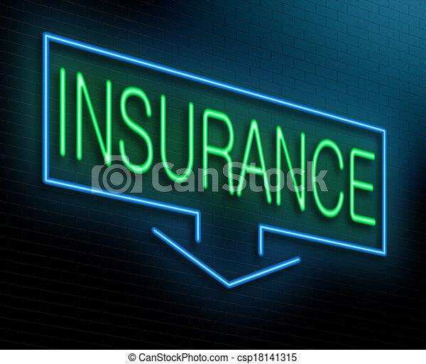 concept., assicurazione - csp18141315