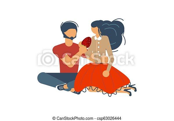 concept., datazione, romantico - csp63026444