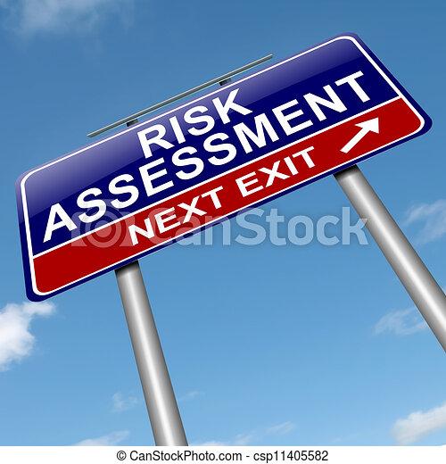 concept., valutazione, rischio - csp11405582