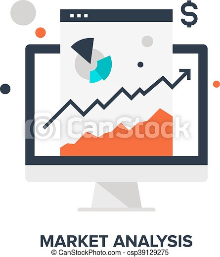 concetto, analisi mercato - csp39129275