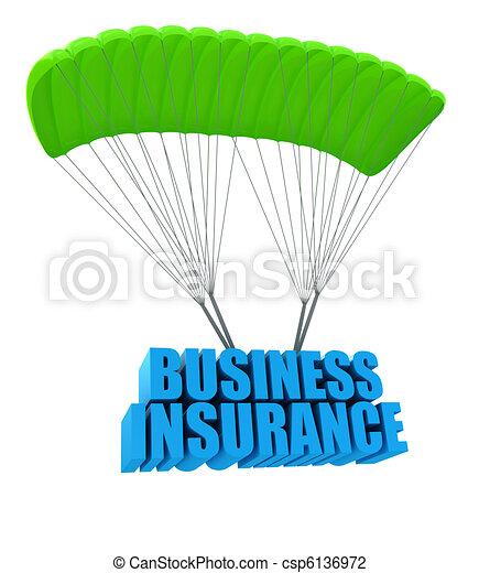 concetto, assicurazione, affari - csp6136972