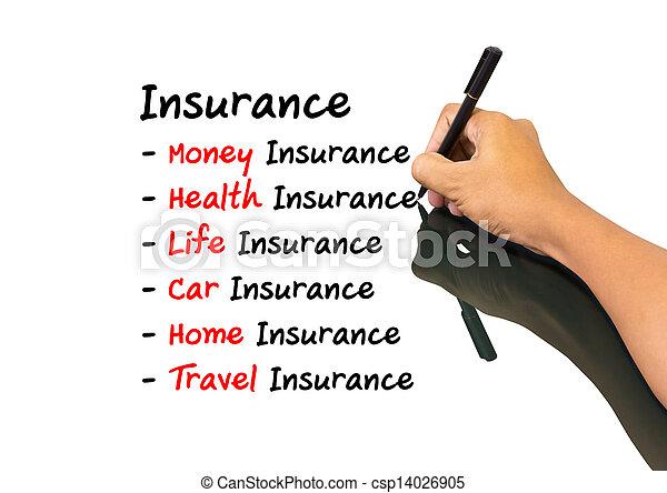 concetto, assicurazione - csp14026905