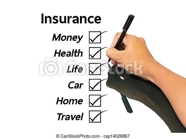concetto, assicurazione - csp14026867