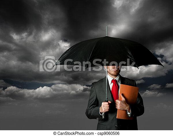 concetto, assicurazione - csp9060506