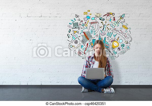 concetto, educazione - csp46420351