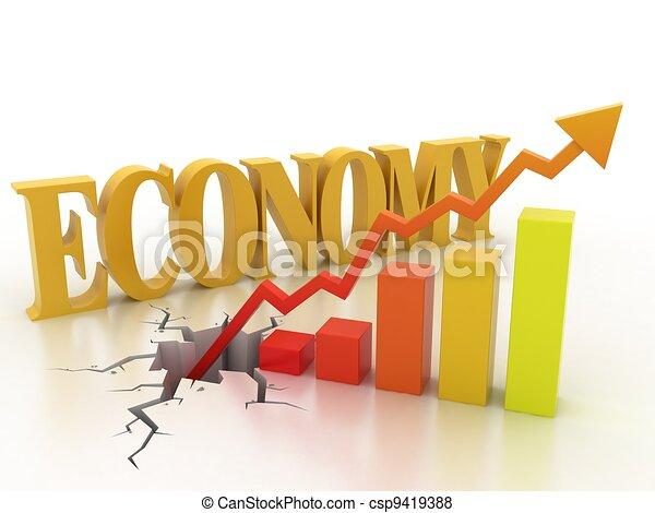 concetto finanziario, crescita, affari - csp9419388