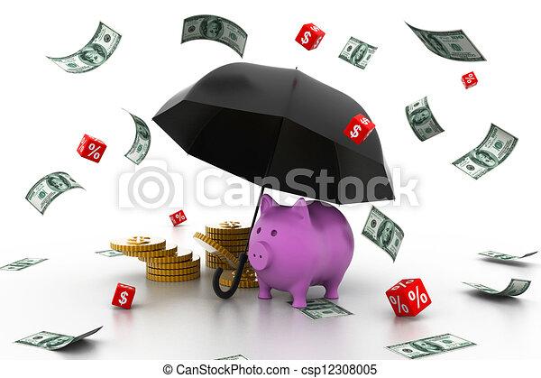 concetto finanziario, crescita - csp12308005