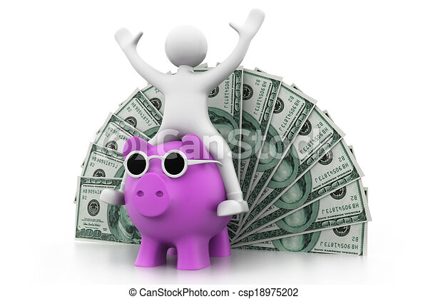 concetto finanziario, crescita - csp18975202