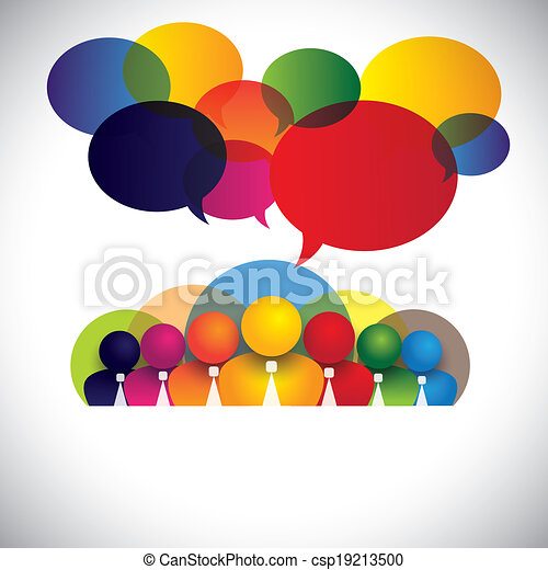 concetto, persone, diverso, membri, razziale, personale, amministrazione, &, media, -, anche, asse, vector., bianco, mostra, rete, colorito, ditta, personale, conferenza, colletto, multi, grafico, sociale, funzionari - csp19213500