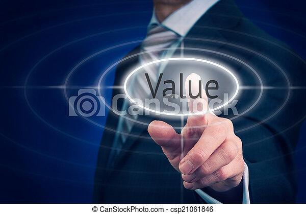 concetto, valore - csp21061846
