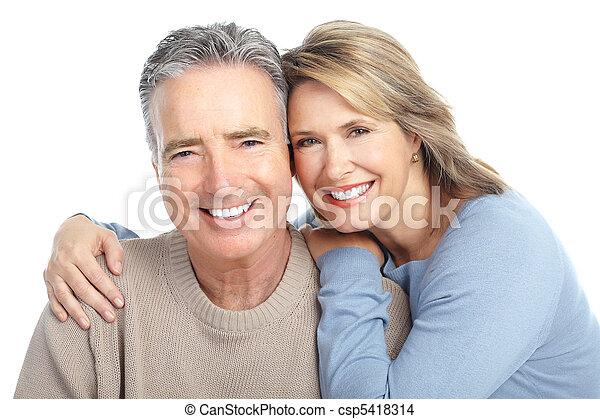 coppia, seniors - csp5418314