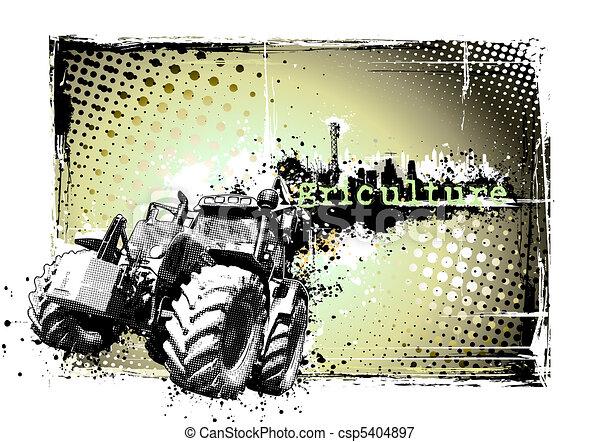 cornice, agricoltura - csp5404897