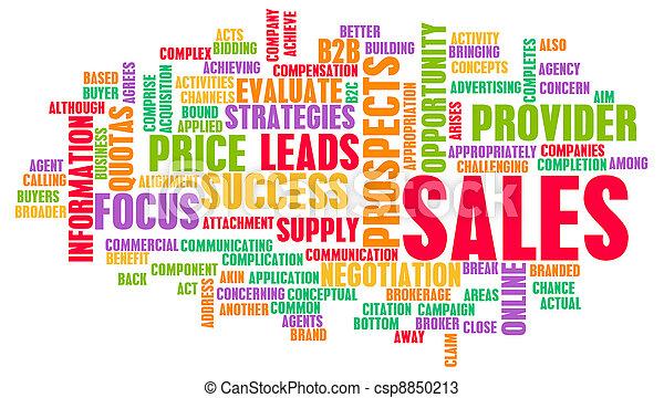corporativo, vendite - csp8850213