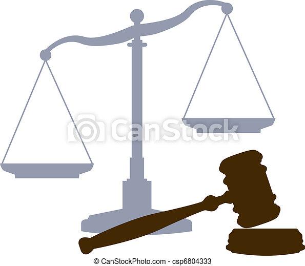 corte, scale, sistema giustizia, legale, simboli, martelletto - csp6804333