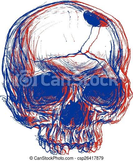 cranio, 3d - csp26417879
